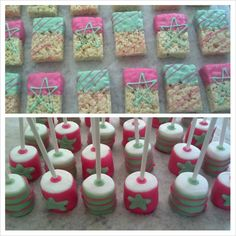 Marshmallow treats made for a fundraiser event