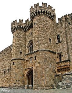 ... of the Order of the Knights of Rhodes / Order of Hospitallers) #castle