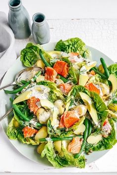 All-In Smoked Salmon and Caper Salad