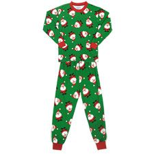 fe2e2c0d55 Make waiting for Santa extra fun with this pajama set from Sara s Prints.  55% cotton