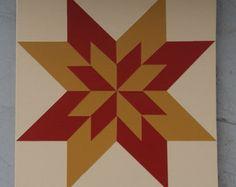 1 1/2 x 1 1/2 granero edredón panel de por BarnQuiltsPotterCo