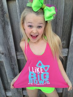 Purple Pixies - I Like Big Bows -Designed by JoJo Siwa, $30.00 (http://shop.purplepixies.net/jojo)