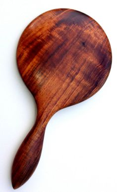 Curly Koa Hand Mirror by UpcountryDesign on Etsy, $85.00