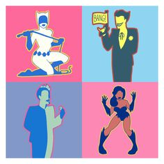 Batman Warhol by ~manic-pixie