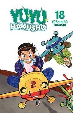 LIGA HQ - COMIC SHOP YU YU HAKUSHO #18 (DE 19) - Yu Yu Hakusho - Mangá PARA OS NOSSOS HERÓIS NÃO HÁ DISTÂNCIA!!!