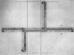 Alison and Peter Smithson, Golden Lane Housing Competition Design, Plan, London, England, 1952