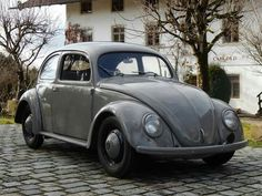 1949 VW Beetle Split Window #vw_vintage_morat Volkswagen
