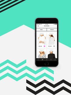 animation ui ux prototype app design