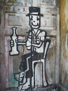 Street art in Recife, Brazil