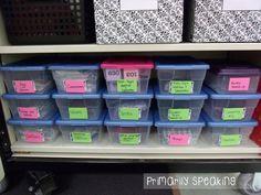Organized Games & Activity Cards:  Primarily Speaking