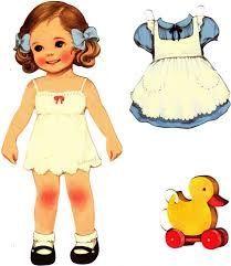 Resultado de imagen para paper dolls