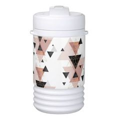 Geometric | Beverage Cooler  $15.95  by KammDesign_2015  - cyo customize personalize unique diy