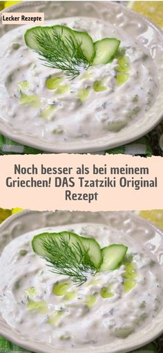 Even better than my Greek! THE Tzatziki Original Recipe - Recipes - Even better than my Greek! THE Tzatziki Original Recipe – Recipes Even better than my Greek! Greek Recipes, Vegan Recipes Easy, Taziki Dip, Tzatziki Recipes, Tzatziki Sauce, Party Finger Foods, Original Recipe, Goulash, Food Hacks