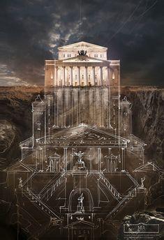 Hidden Depths: Architectural Illusion Unfolds Underground