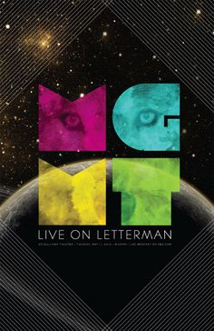 MGMT, Live on Letterman Poster