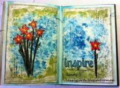 Lonely Cards and other arty crafty things.: Inspire...