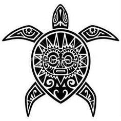 Awesome Tattoos Turtle Maori Tattoo Design