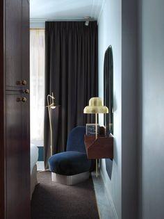 henrietta-hotel-guest-room-london, dorothee melichzon design. Paul Boyer photo.