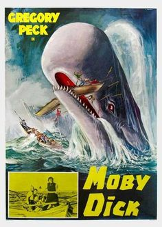 Moby Dick 11x17 Movie Poster (1956)