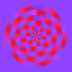 Optical illusion - looks as if it moves, but stare closely at any point - it never changes. Interesting!
