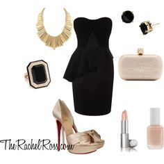 Wedding Guest chic, you may just steal some focus off the bride with this look. ;]