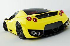A more reserved Ferrari Concept, still cool!