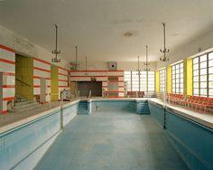 Hallenbad im Südbahnhotel Semmering, AT, Architekten Emil Hoppe, Otto Schönthal, 1991Margherita Spiluttini