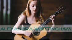 Alexandra Whittingham: live classical performances    19 year old British guitarist Alexandra Whittingham plays Astor Piazzolla's Verano Porteño. Videography by Tom Gradwell: http://ift.tt/2rVz0sO Audio & Video production by Craig Morgan.  Taken from Alexandra's debut CD 'Verano' available here: http://ift.tt/2mOTNrR  Verano Porteño (Astor Piazzolla) - Alexandra Whittingham  Capricho Arabe (F. Tárrega) - Alexandra Whittingham  Saudade No.3 (Roland Dyens) - Alexandra Whittingham  Alexandra…