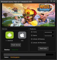 Hack and Keygen: Westward Journey Hack