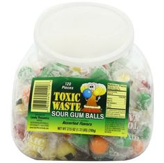 Toxic Waste Candy, Sour Gum Balls Fish Bowls, 120 ($14.40) Toxic Waste Candy, Princess Dress Up, Corporate Website, Sour Candy, Candy Shop, Bowls, Shops, Sugar, Fish