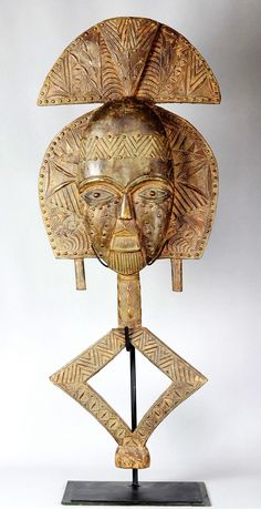 Majestieux Reliquaire KOTA 101 cm Gabon figure Bakota Art Africain statue tribal | eBay