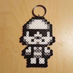 Stormtrooper Star Wars perler beads by bigheadpixelart