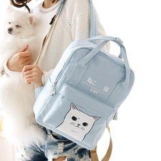 836b374250 www.sanrense.com - Cute kawaii students cat backpack SE10124 · Cat  BackpackFabric MaterialColour ...