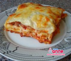 Mince Lasagna Recipe Hello my dear mother's kitchen. Baked Spaghetti Pie, Turkish Recipes, Ethnic Recipes, Turkish Kitchen, Easy Cooking, Brunch, Food And Drink, Easy Meals, Dinner Recipes