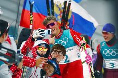 2018 Winter Olympics - Norway's Johannes Hoesflot Klaebo poses for a picture at the end of the race in the men's cross-country skiing spring classic final Feb. 13 in Pyeongchang, South Korea. Tara Lipinski, Pyeongchang 2018 Winter Olympics, Johnny Weir, Mens Crosses, Winter Games, Thinking Day, Cross Country Skiing, Famous Celebrities, The Man