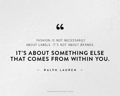 Fashion Quotes graphic