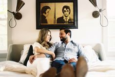 Photog Jessica Garmon sent this sweet Texas e-sesh our way along with a note about Nima and Jessica C.. They've been together for 10 years and renovated a house together, filling it with collections from their travels, art, and modern décor. It's no wonder they chose their home as the locale for their engagement shoot. …
