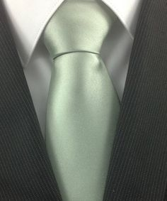 Sage Green Wedding Neckties by TheNecktieShop on Etsy, $12.99