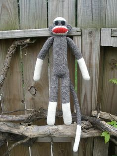 Crocheted Sock Monkey by Joey Wright and other fun free sock monkey patterns! Roundup on mooglyblog.com!
