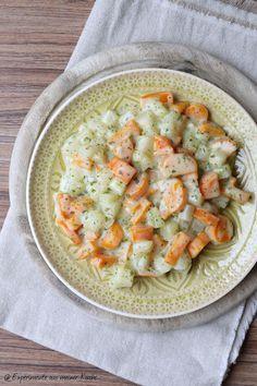 Experimente aus meiner Küche: Möhren-Kohlrabi-Gemüse