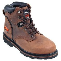 Timberland Pro Boots  Men's Pit Boss 33046 Brown Soft Toe EH Work Boot