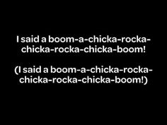 Boom Chicka Boom (Co