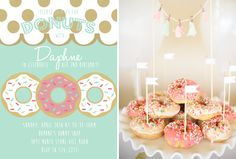 Daphne's Donut Birthday Party