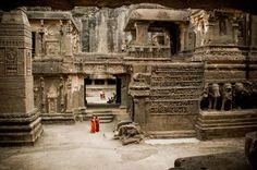Kailash Temple, Ellora Caves, India
