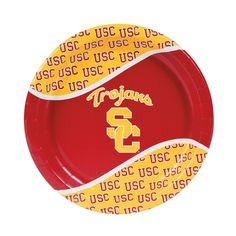 NCAA(TM) USC Trojans Dinner Plates