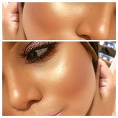 Glowing highlight.
