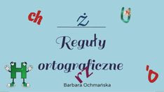 Discover more about Reguły ortograficzne ✌️ - Presentation Presentation, Map, Education, Places, Maps, Educational Illustrations, Learning, Peta, Studying