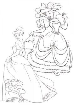Cinderella 23 Ausmalbilder