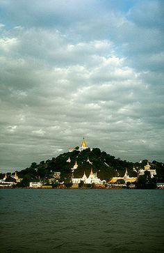 Río Ayeyarwady, Mandalay -   Ayeyarwady River, Mandalay (August 2003)    www.vicentemendez.com