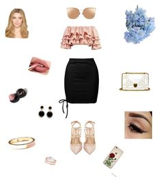 """Untitled #63"" by crinutacrinuta on Polyvore featuring Sans Souci, Boohoo, River Island, Valentino, Linda Farrow and Old Navy"